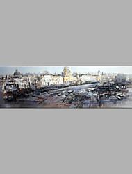 economico -Dipinta a mano Paesaggi Orizzontale,Artistico Un Pannello Tela Hang-Dipinto ad olio For Decorazioni per la casa
