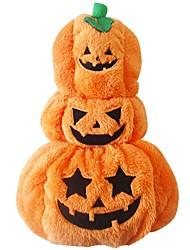 Dog Costume Dog Clothes Cosplay Pumpkin Orange
