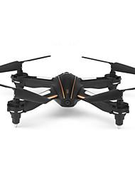 baratos -RC Drone WL Toys Q616 Canal 4 2.4G Com Câmera HD 0.3MP Quadcópero com CR Retorno Com 1 Botão / Modo Espelho Inteligente / Flutuar