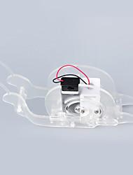 Crabe Kingdom® diy science et éducation fabrication artisanale robot kit escargot lent