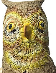 Недорогие -Маски на Хэллоуин Животная маска Игрушки Сова Ужасы Куски Универсальные Хэллоуин Подарок