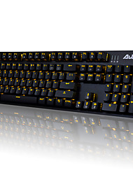 cheap -AJAZZ-AK52 Mechanical keyboard  Gaming keyboard USB Black axis Single Color Backlit