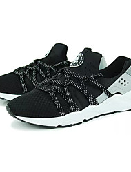Women's Athletic Shoes Comfort Light Soles Breathable Mesh Spring Fall Athletic Casual Outdoor  Flat Heel Screen Color Ruby Black