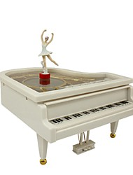 Music Box Toys Piano Plastics Pieces Unisex Birthday Gift