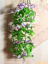 cheap -The Simulated Morning Glory Wall Hanging Cane Decoration Wall Hanging Flowers