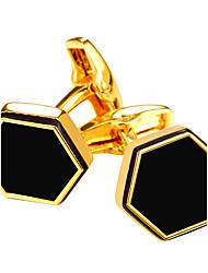 Cufflink Tie Bar Tie Clip  Fashion Vintage Cufflinks Men's Women's Gold