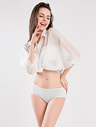BONAS Print Cotton Sexy Briefs For Girls Polyester Seamless Woman Panties Underwear Women Low Rise Pink Women's Big Size Panty 4 pcs/pack