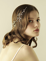 cheap -Pearl Headbands 1 Wedding Special Occasion Anniversary Birthday Party / Evening Headpiece