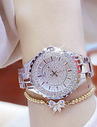 Women's Wrist watch Bracelet Watch Unique Creative Watch Casual Watch Simulated Diamond Watch Pave Watch Chinese Quartz Water Resistant /