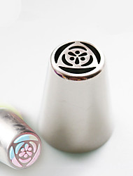 New Design Russian Tulip Icing Piping Nozzles Cake Decoration Tips DIY Tool