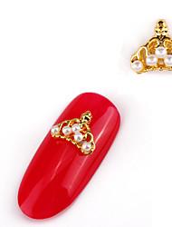 Недорогие -Украшения искусства ногтя ювелирных изделий Подвески