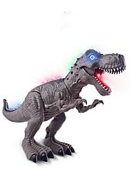abordables -Figuras de animales de acción Juguete Educativo Juguetes tiranosaurio Dinosaurio Animales Paseo Simulación Eléctrico Plásticos Chico