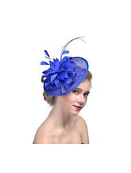 cheap -Flax Fascinators Headpiece Wedding Party Elegant Feminine Style