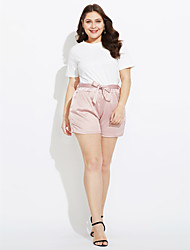 cheap -Women's Casual Loose Shorts Pants - Solid Colored