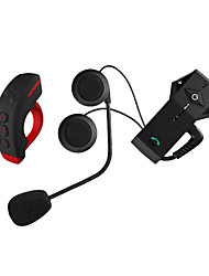 Motorcycle Bluetooth Headsets Ear hanging style Remote Control