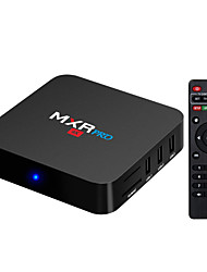 abordables -MXR pro TV Box Android7.1.1 TV Box RK3328 Quad-Core 64bit Cortex-A53 4GB RAM 32GB ROM Octa Core