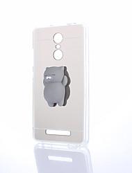 Недорогие -Кейс для Назначение Xiaomi / Xiaomi редми 2 Зеркальная поверхность / Своими руками / болотистый Кейс на заднюю панель Однотонный Твердый ПК для Xiaomi Redmi Note 4 / Xiaomi Redmi Note 3 / Xiaomi