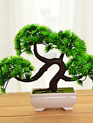 Green Simulation of Plants Potted Plants Home Furnishing Bonsai living Room Decoration Artificial Flowers