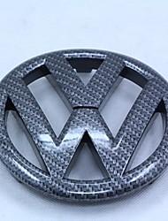 Emblema automobilistico vw gti / r20 fibra di carbonio