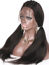 Unprocessed Brazilian Virgin Human Hair 8-26 Inch 130% Density 13*6 Lace Front Wig Water Wave Front Lace Wig Non-remy Hair Wavy Wig