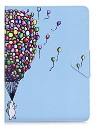 Étui pour ipad air 2 pro 9.7 '' casquette modèle de ballon pu matériel triple tablette pc cas boîtier de téléphone ipad 2 3 4 air