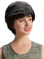 economico -Parrucche adorabili dei capelli umani adorabili dei capelli corti dei capelli umani