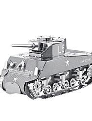 Kit de Bricolage Puzzle Puzzles en Métal Jouets Tank Avion 3D A Faire Soi-Même Articles d'ameublement Non spécifié Pièces