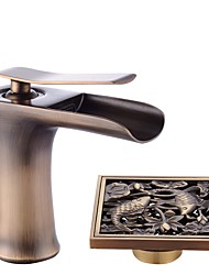 cheap -Centerset Ceramic Valve Bathroom Sink Faucet