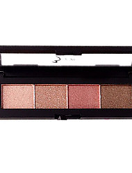 Novo 4 Shimmer Portable Eyeshadow Palette Cosmetic Beauty Care Makeup for Face