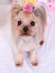 Gatto Cane Accessori per acconciature Abbigliamento per cani Da serata Casual Cosplay Matrimonio Capodanno Halloween Natale Tinta unita