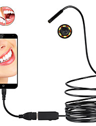 5.5mm Lens Diameter Micro Endoscope HD Waterproof Special Focal Length 1.5CM for Facial Features Examination and Equipment Inspection
