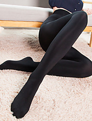 Women's Warm PantyhoseNylon Stockings,Thickening,Solid color