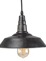 cheap -Vintage Industrial Pendant Light Country Style Mini Chandelier for Bars With 1 Light Painted Finish
