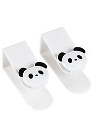 2PCS Panda Design Back Door Hook(Random Color)