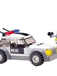 Blocs de Construction Voitures de jouet Voiture de Police Jouets Automatique Pièces Cadeau