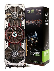 Недорогие -COLORFUL Video Graphics Card GTX1070 1620MHz/8008MHz8GB/256 бит GDDR5