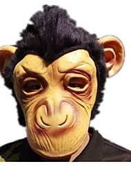 Недорогие -Маски на Хэллоуин Животная маска Обезьяна Ужасы клей Куски Универсальные Взрослые Подарок