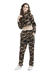 Felpa con cappuccio Pantalone Completi abbigliamento Da donna Sport Per eventi Per uscire Casual Semplice Attivo Sensuale Moda città