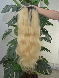 Women Human Hair Lace Wig Lace Front 130% Density Body Wave Wigs Black/Bleach Blonde Short Medium Long Natural Hairline For Black Women