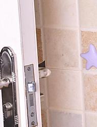Starfish Shape Silence Anti-collision Door Hanging(Random Color)