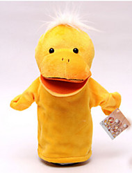 cheap -Finger Puppets Stuffed Toy Toys Duck Horse Cow Hippo Deer Animals Cotton Cloth Children's Adults' Pieces