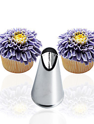 1pc chrysanthemum nozzles Decorating Tip Icing Nozzle Cupcake Decorating Tool Pastry Piping Kit
