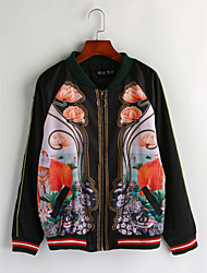 cheap -Women's Boho Jacket-Floral Print