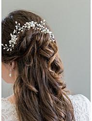 abordables -aleación de la perla pelo pin tocado boda elegante estilo femenino