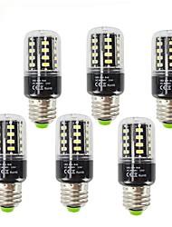 3.5 E27 LED Mais-Birnen T 28 SMD 5736 400 lm Warmes Weiß Kühles Weiß 2700-6000 K Dekorativ V 6pcs