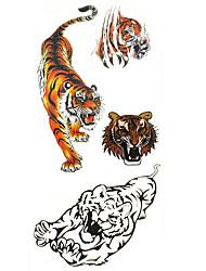cheap -Tattoo Stickers Animal Series Pattern Lower Back Waterproof Women Men Teen Flash Tattoo Temporary Tattoos