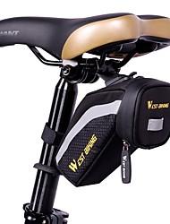 Bike Bag Bike Saddle Bag Reflective Strip Rain-Proof Waterproof Zipper Lightweight Bicycle Bag Cloth Lycra Cycle Bag - Cycling