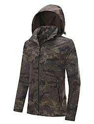 cheap -LEIBINDI Men's Hiking Jacket Outdoor Winter Quick Dry Windproof Rain-Proof Stretchy Top Waterproof Single Slider Running/Jogging Climbing