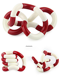 Crooked Circle Stress Relievers Toys DIY Cylindrical ABS Pieces Gift