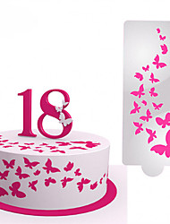 cheap -1pc Novelty Everyday Use Plastics High Quality Cake Molds